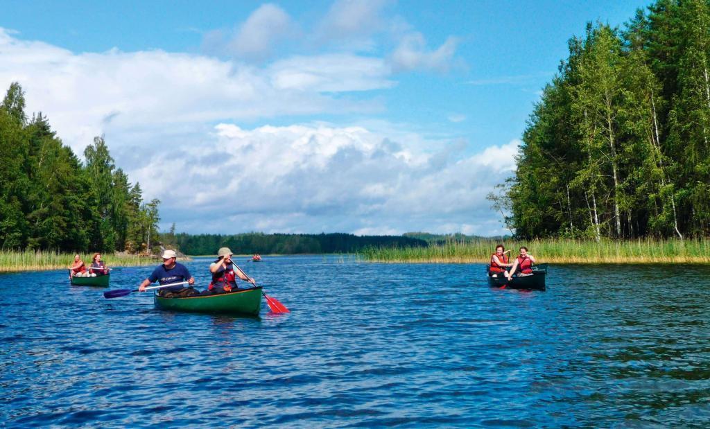Paddeln im finnischen Seenparadies