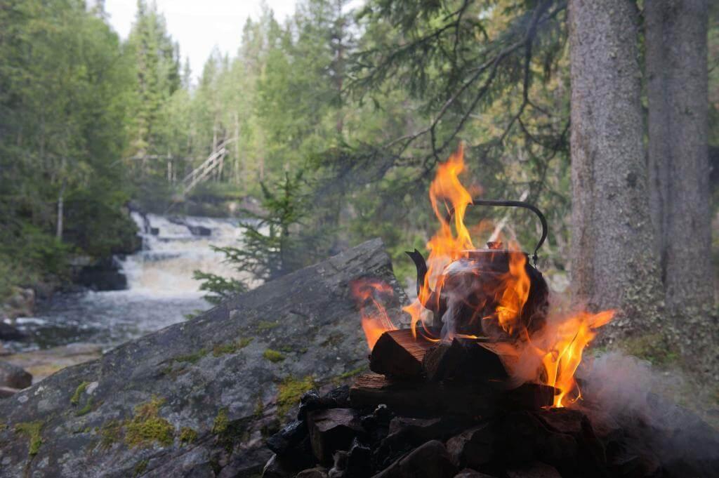 Outdoorabenteuer in Lappland