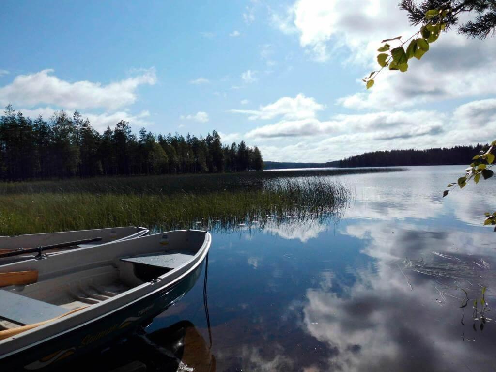 Seenidylle in Schweden