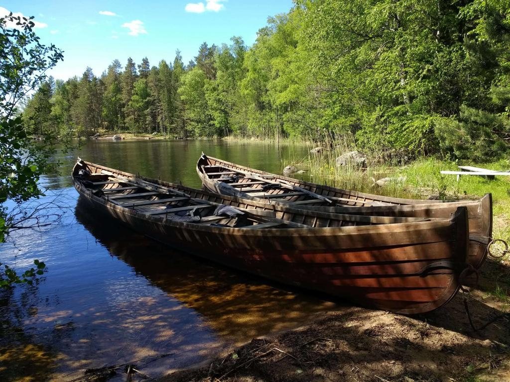 Entspannen im Saimaa-Seengebiet
