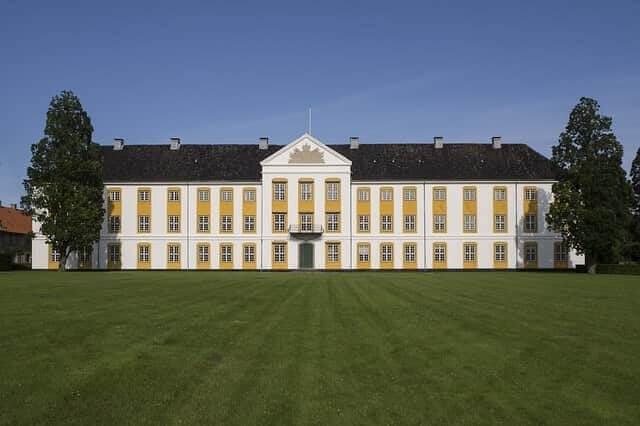 Das Schloss in Ausgustenborg