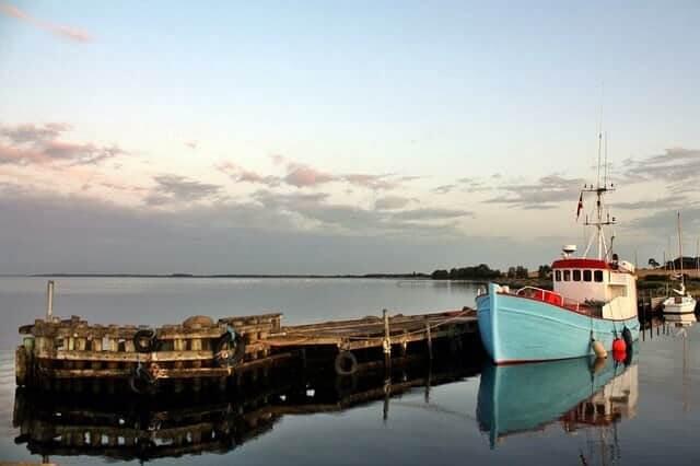 Hafen auf Lolland