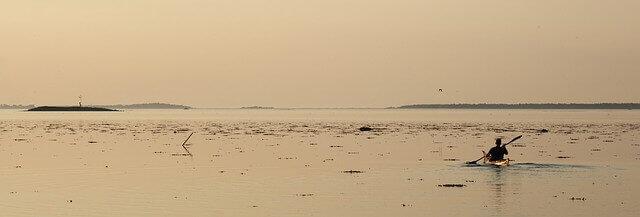 Mit dem Kajak über dänische Gewässer