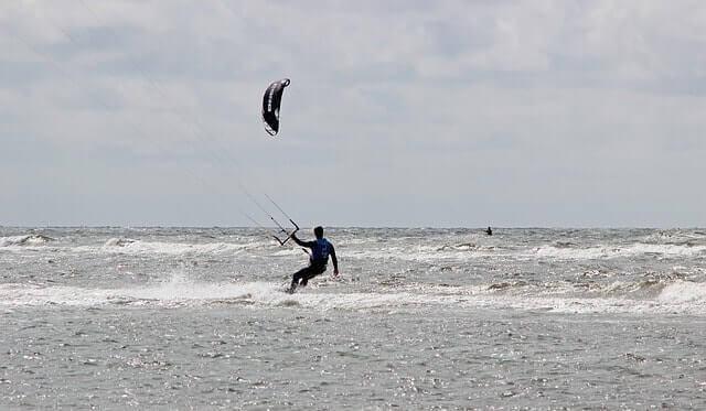 Sehr beliebt bei Windsurfern