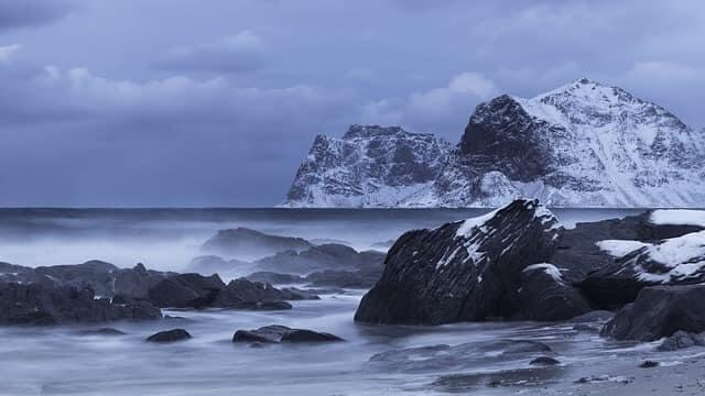 Berge auf Flakstadøy