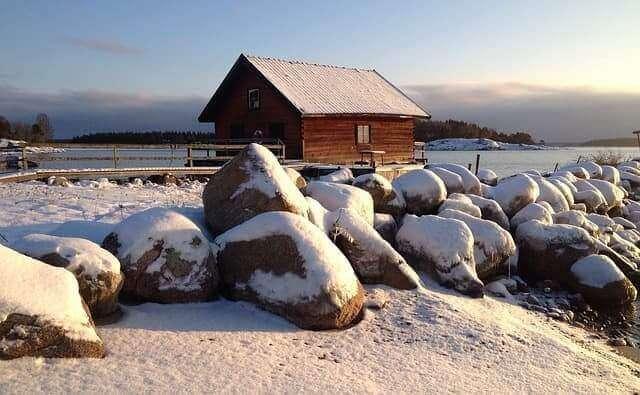 Gräsö im Winterzauber