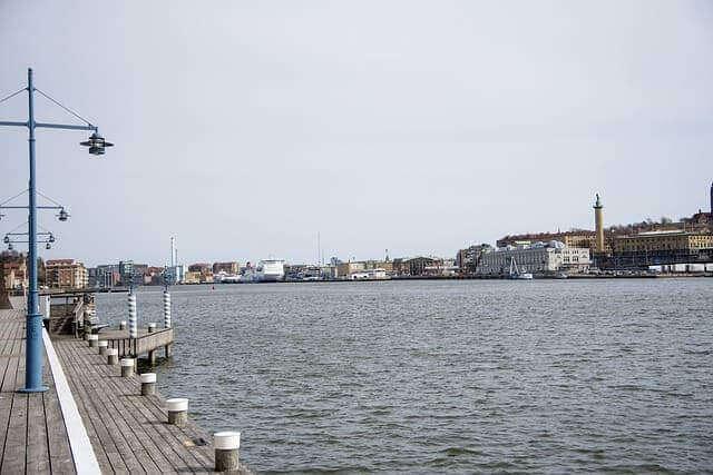 Der Hafen von Hisingen