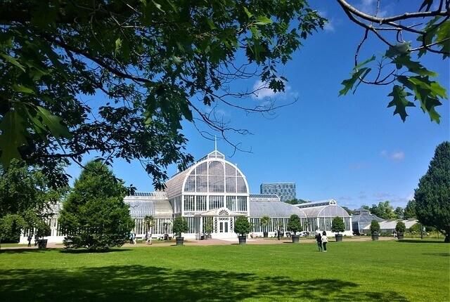 Der botanische Garten in Göteborg