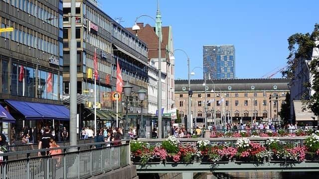 Schlendern durch Göteborgs Straßen