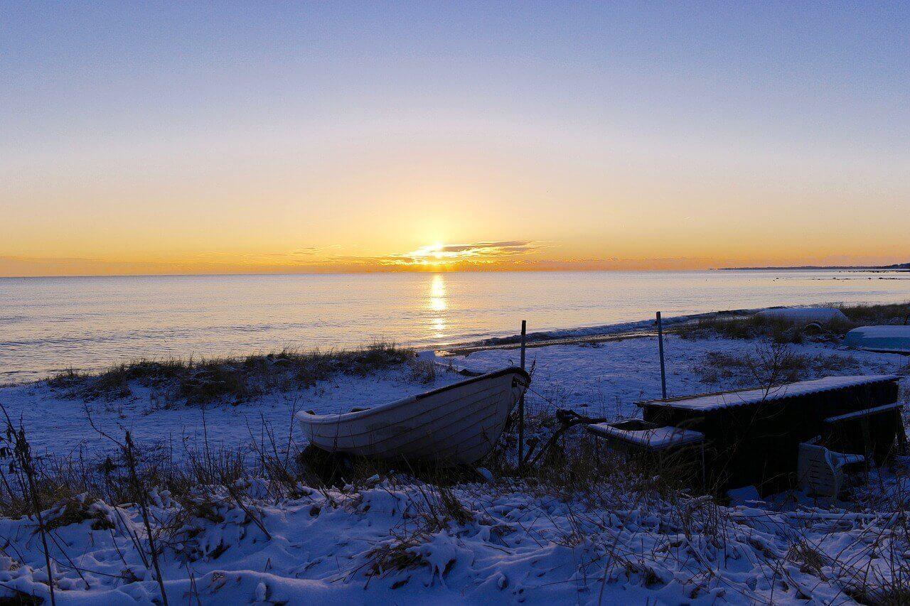 Sonnenuntergang Ystad
