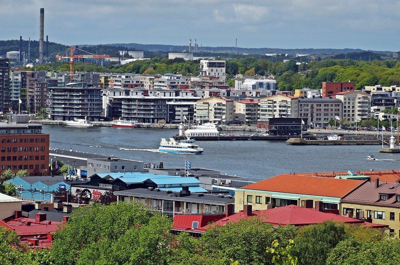 Hafenstadt Göteborg