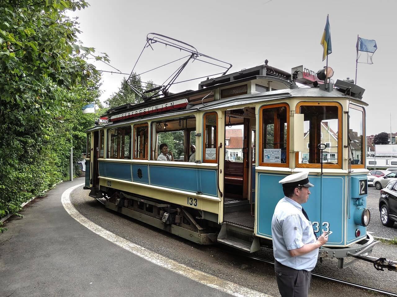 Alte Tram in Göteborg