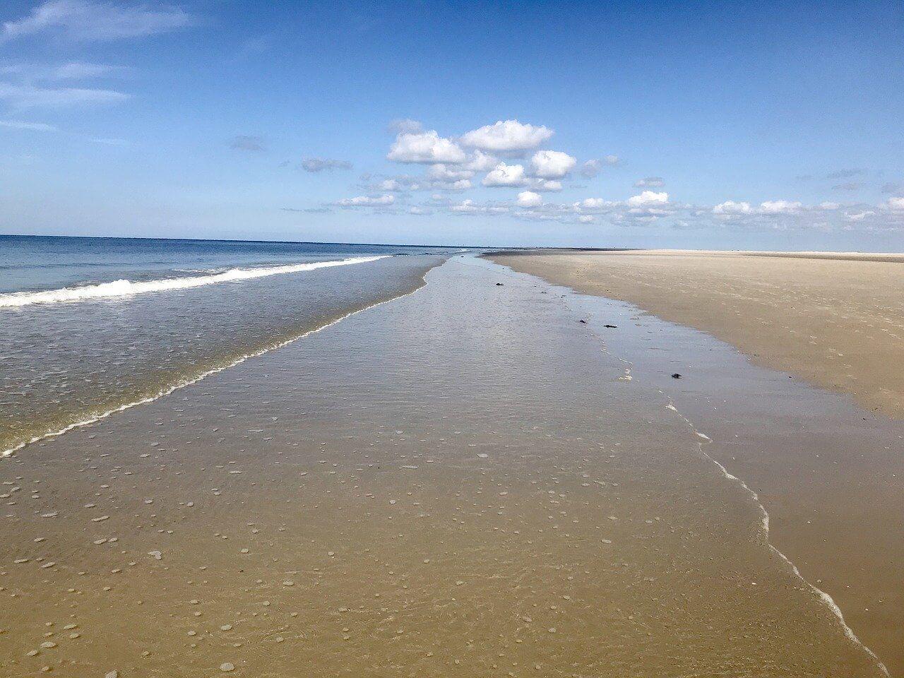 Strand auf der Insel Fanö