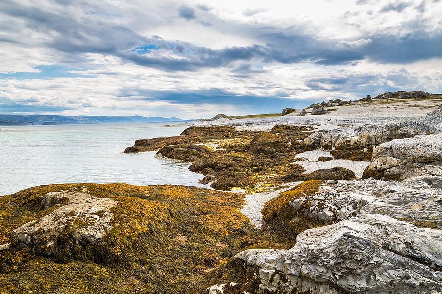 Finnmark Norwegen Küste