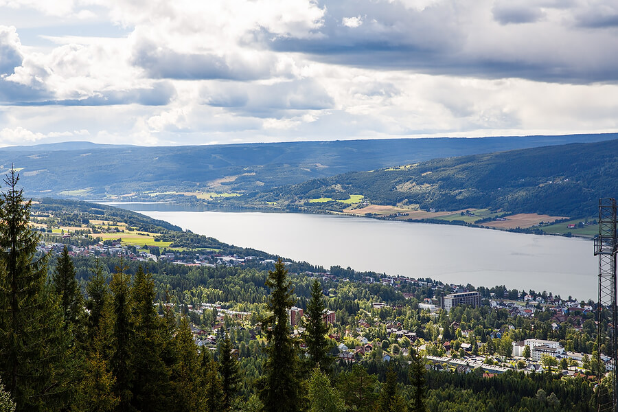 Lillehammer in Norwegen
