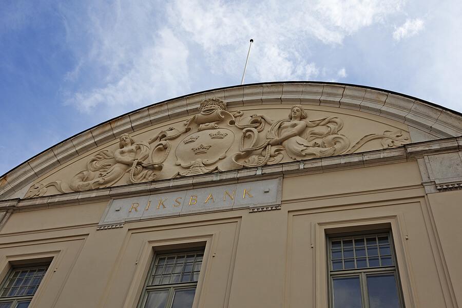 Gebäude der National Bank in Sundsvall