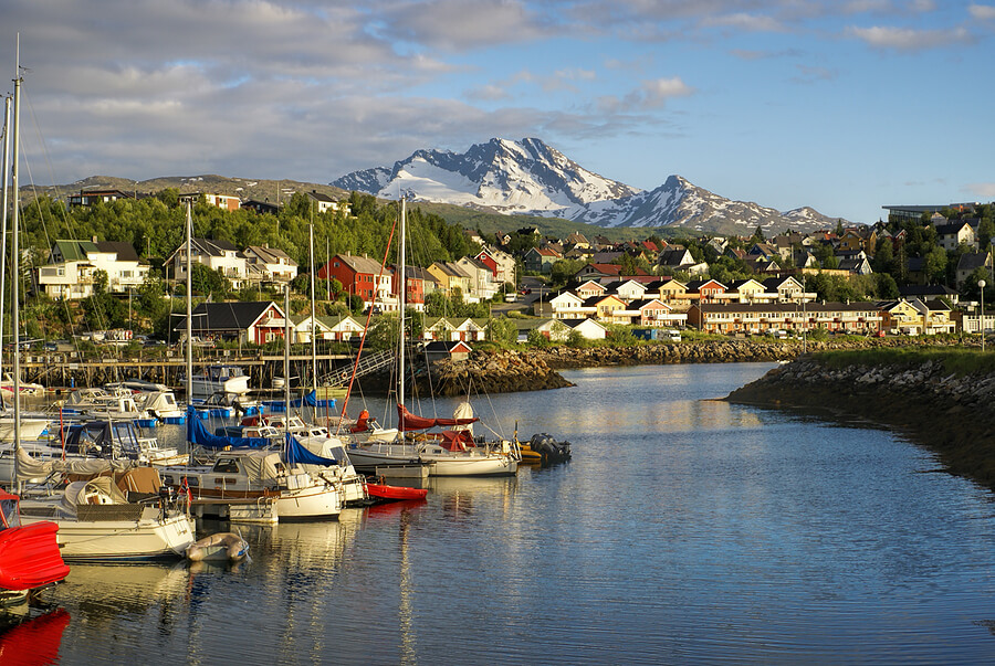 Narvik in Norwegen