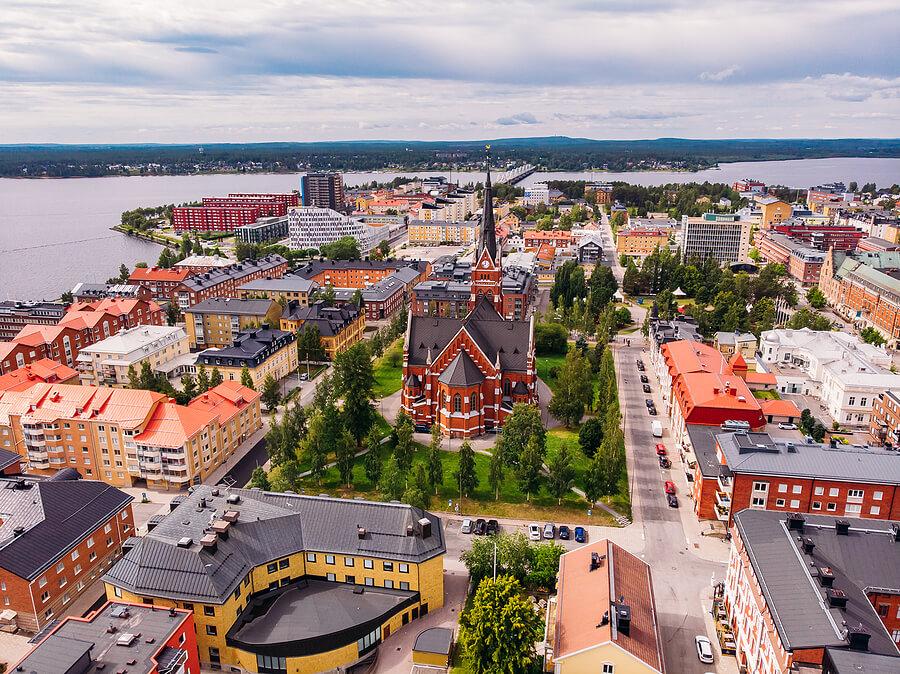 Luleå in Schweden