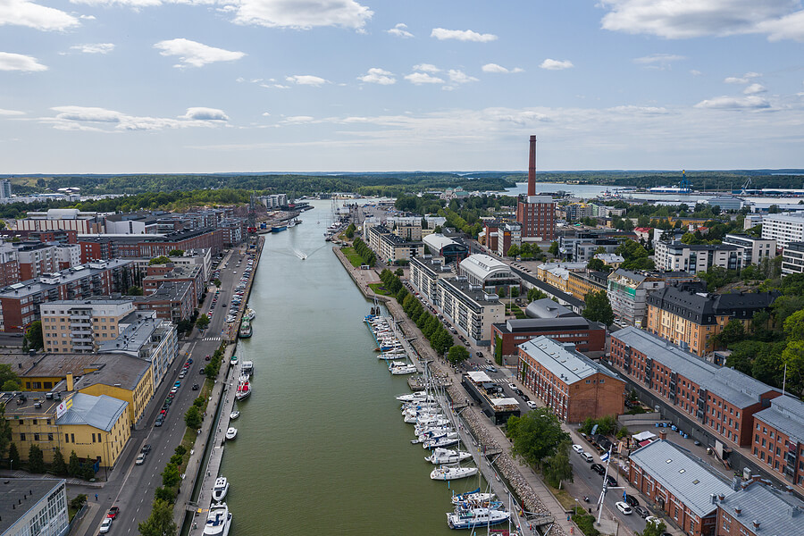 Turku in Finnland