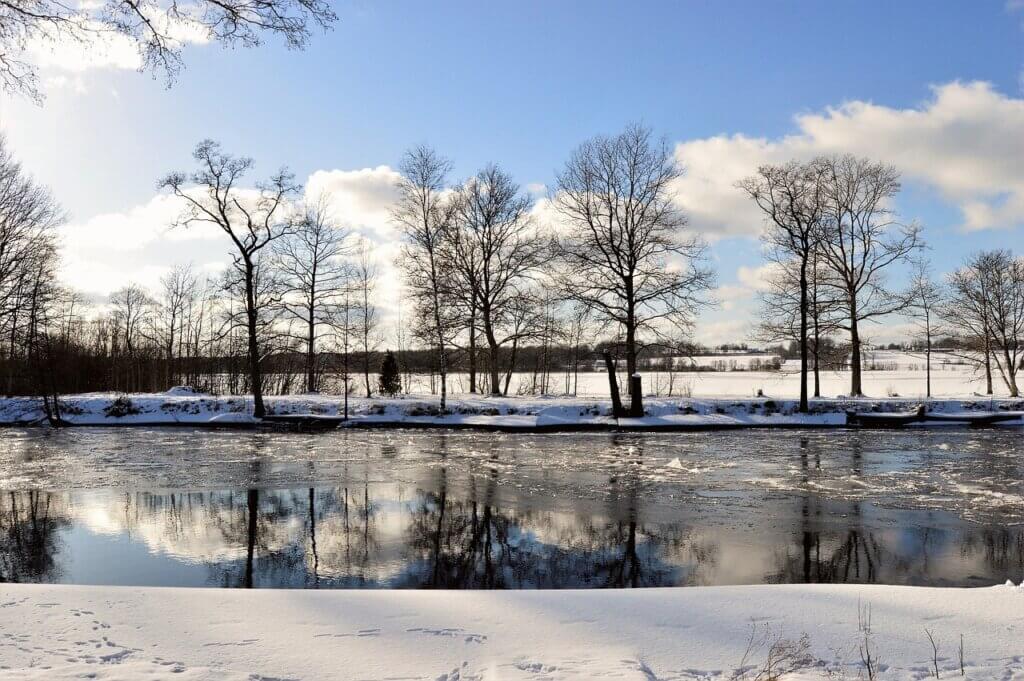 See Schweden Winter